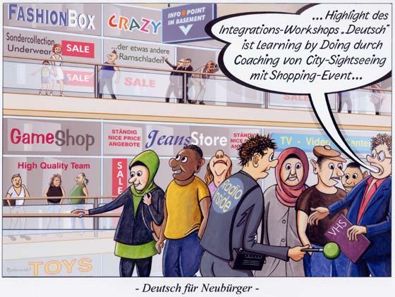 Deutsch für Neubürger