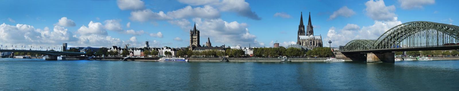 Köln Panorama ©KoelnTourismus GmbH, Foto: Dieter Jacobi